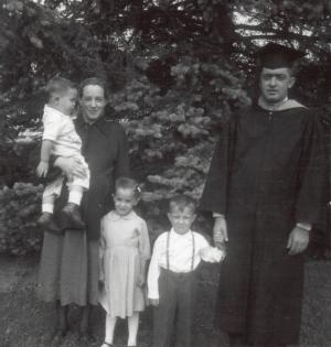 Dad's Graduation
